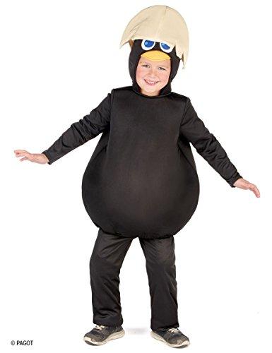 Generique Kostüm Calimero für Kinder (122/134 (7-9 ()