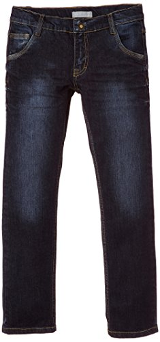 NAME IT Jungen Jeans Leopol Kids DNM Slim/Slim Pant NOOS, Einfarbig, Gr. 134, Blau (Dark Blue Denim)