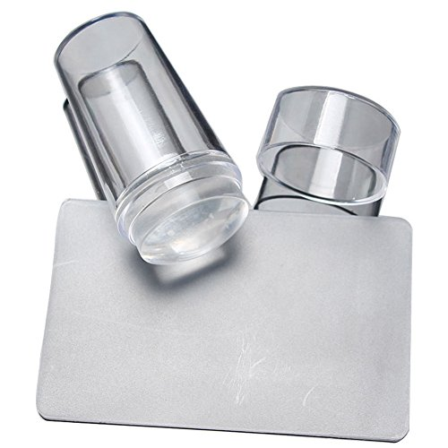 1X Toruiwa Nagel Nailart Clear Jelly Stamper transparent DIY Nail Art Werkzeug