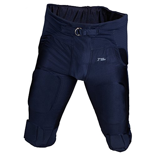"""Active Athletics American Football Hose 7 Pad """"All in One"""" Gamepants - navy Gr. L"""