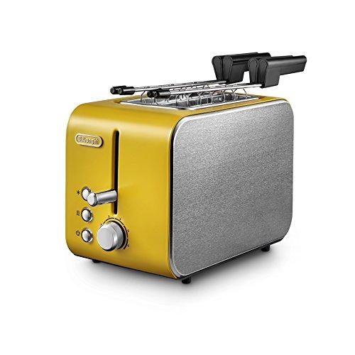 De Longhi CTX-2203Y550W, 2 fette, 220 - 240 V AC, 50/60 HzSpecifiche:ColoreGiallo