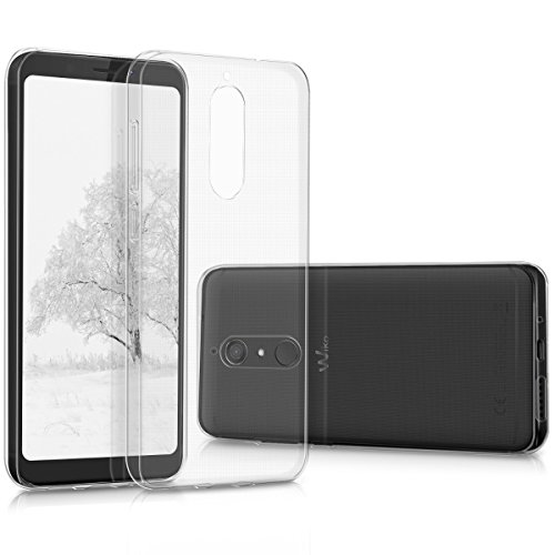 kwmobile Wiko View XL Hülle - Handyhülle für Wiko View XL - Handy Case in Transparent