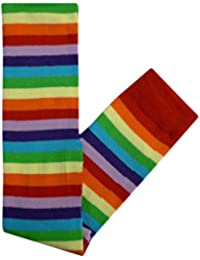Summer Over Knee School Holiday Fancy Dress Stripe Fun Colourful Emo Long Socks