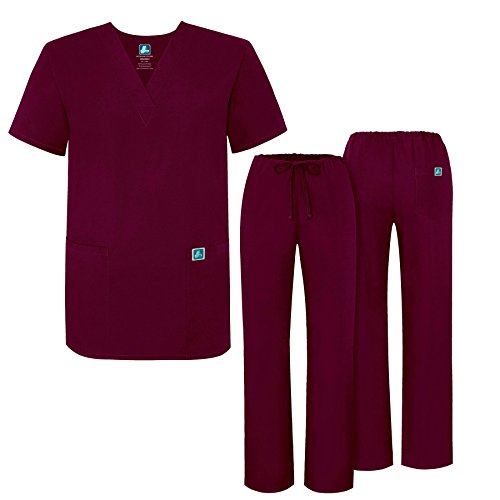 Adar Universal Medical Scrubs Set Medical Uniforms - -