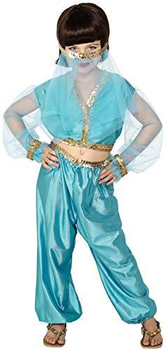 Smiffys Kinder Arabische Prinzessin Kostüm, Hose, Oberteil und -