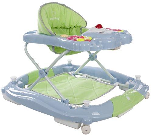 Sun Baby Rocker Bear - Andador para bebé, color azul y verde
