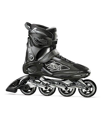 FILA Skates Primo Alu 80Inlineskates, Herren, Herren, Primo Alu 80, schwarz/grau -