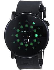 Binary THE ONE Gamma ray GRR213G3 - Reloj digital unisex de cuarzo con correa de goma negra - sumergible a 30 metros
