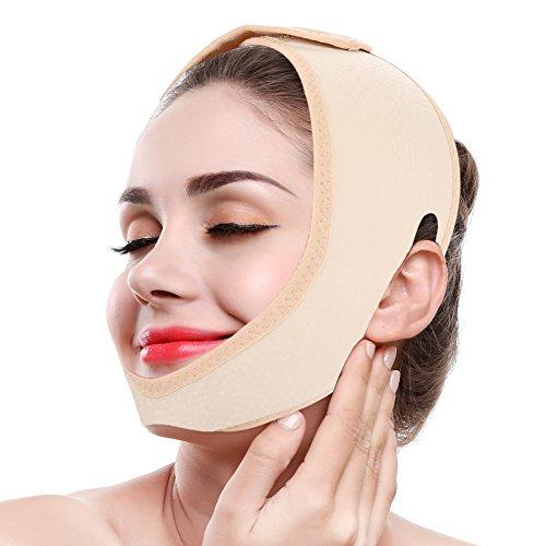 V Line Mask, fascia per il lifting del viso Slimming doppio sottogola Cintura per la perdita di peso Cinghie Cura della pelle Sollevamento del mento