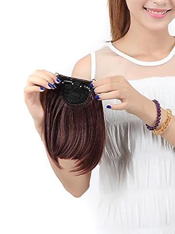 20cm clipser sur les extensions de cheveux de frange Professionnel