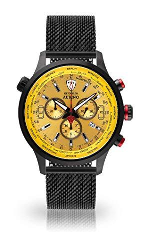 Detomaso Herren-Armbanduhr XXL