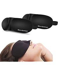 Mondpalast @ 3D Antifaces para Ojos Máscara de Dormir x2 Anti-luz para Acostarse Viajar