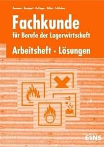 Logistische Prozesse, Berufe der Lagerlogistik, Lösungen zum Arbeitsheft, 1 CD-ROM.