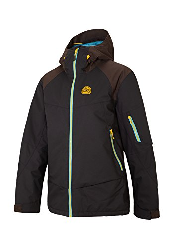 Ziener Tanier Man Jacket Skijacke (black-coffee/coffee), 48