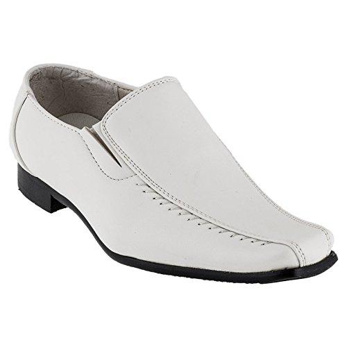 Combinaison de cuir pour chaussure avec intérieur, blanc ou noir - #427 Weiss