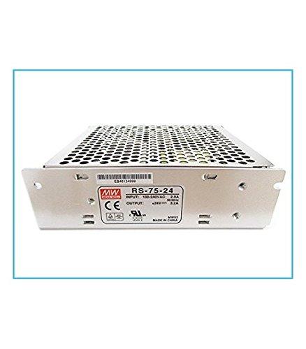 Fuente de alimentación Transformador 75W 24V 3,2A MeanWell RS-75–24