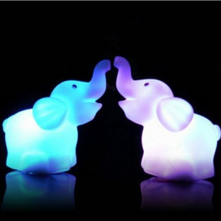 Hemore Lámpara LED, lámpara de Noche de 7 Colores de Silicona Recargable Control Sensible del Tacto, USB Recargable Iluminación Nocturna para habitación de bebé