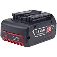 ppk02b Tacklife-DE 18/V 2000/mAh bater/ía de iones de litio recargable para pcd04b incluye indicador LED pcd05b y pcd06b