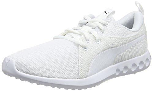 Puma Herren Carson 2 Outdoor Fitnessschuhe, Weiß White-Black, 47 EU