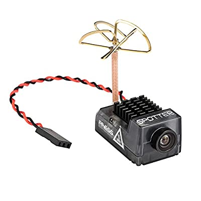 Spotter V2 Micro FPV AIO Camera 5.8G with OSD Integrated Mic,FOV170 Degree 700TVL,Video Transmitter 40ch Adjustable VTX for Mini FPV RC Drone from HankerMall