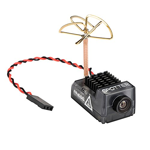 HankerMall Spotter V2 Micro AIO-Kamera 5.8G mit integriertem OSD-Mikrofon, FOV170 700TVL, Video Vtx 40ch Einstellbar VTX für Mini-RC-Drohne Analoge Sender