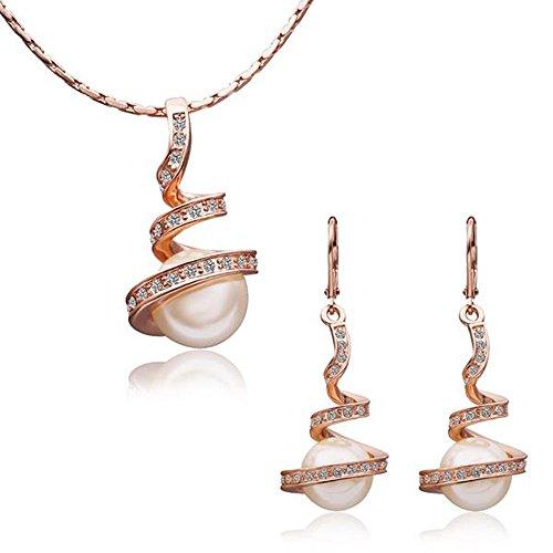 bijoux-en-perles-18k-mesdames-bijoux-collier-boucles-doreilles-rose-gold-or-argent