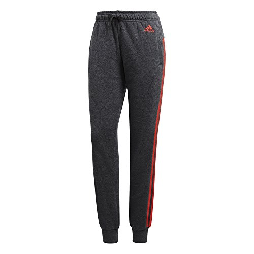 Adidas Essentials 3Bandes pour pantalon Dark Grey Heather/Real Coral