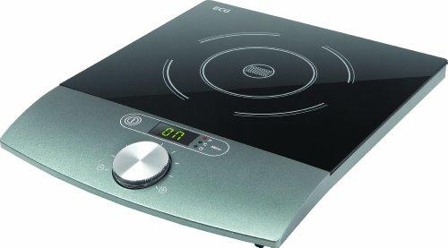 ECG IV 18 Induktionskochplatte, 1800 W, 10 Heizstufen, Temperatur 60-240 °C, Zeitkontroll 1-180 min, Schwarz