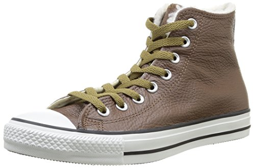 Cook N Home Chuck Taylor All Star Adulte Shearling Hi - Sneaker, , taglia 9 Chocolat
