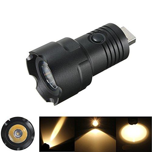Preisvergleich Produktbild Bluelover B CREE XP-G R5 5w 2000LM 4 Modi USB-LED-Taschenlampe Kopf Gelb