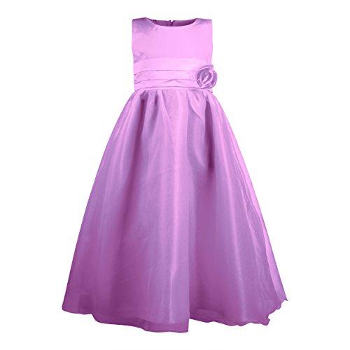 Imagen de katara  la niña de las flores, vestido de noche para niños de 8 10 años, color violeta