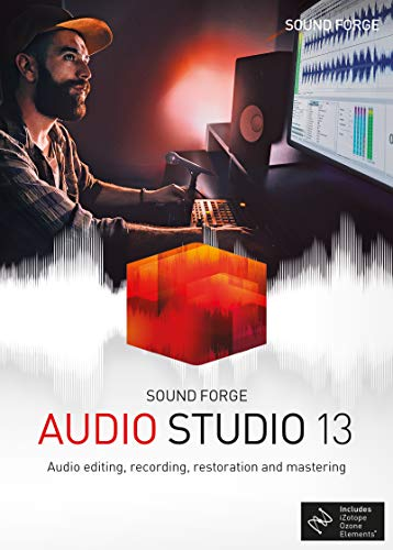 SOUND FORGE Audio Studio 13|Standard|1 Device|Perpetual License|PC|Disc|Disc - Pc-software