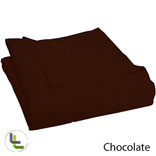1000TC 100% algodón egipcio elegante acabado 1pieza Funda de edredón sólido, algodón,...