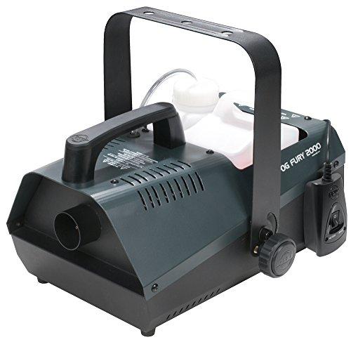Amercian DJ 1411100007 Fog Fury 2000 tragbare Nebelmaschine (1100 Watt) (American Dj Nebelmaschine)