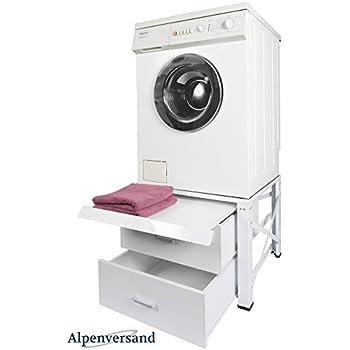 """Waschmaschinenschrank erhöhung mit Stauraum der""""Waschturm"""