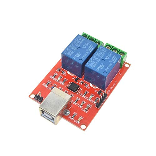 2-Kanal-USB-Relais-Modul Programmierbare Computersteuerung für Smart Home DC 5V
