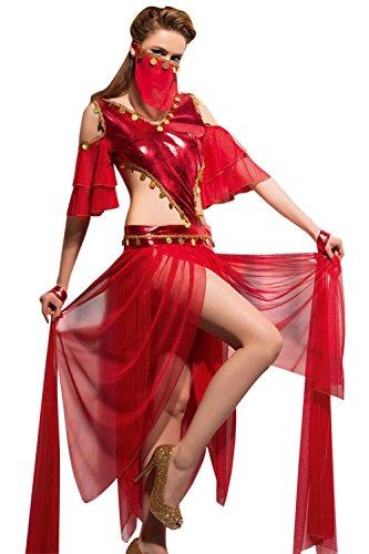 VIP Erotica Sexy Oriantal Dancer Lingerie Costume Set