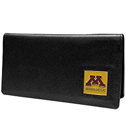NCAA Minnesota Golden Gophers  Leather Checkbook Cover