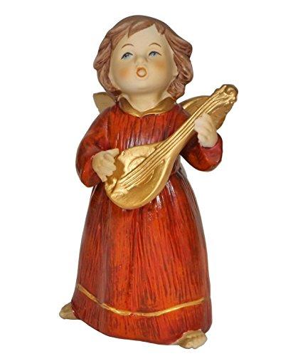 Klp Engel Schutzengel Mandoline Skulptur Weihnachtsengel Deko Artikel Figur Statue