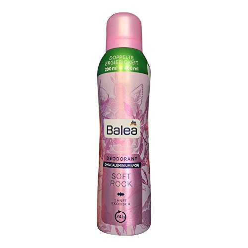 Balea Deo Spray Deodorant Soft Rock, 200 ml Flasche (1er Pack)