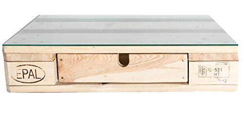 Schublade für Paletten | Palettenmöbel | Zubehör | passt für alle Euro-Paletten | rustikale Verarbeitung | deutscher Händler | kein Einbau notwendig | für Bett, Tisch, Regal, Schrank etc.