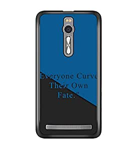 PRINTSWAG QUOTE Designer Back Cover Case for ASUS ZENFONE 2