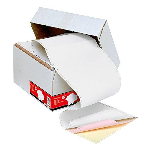 Challenge Endlospapier (3-fach Durchschrift, 700 Blatt, 297 mm x 241 mm, Standardperforierung) 3 Farben