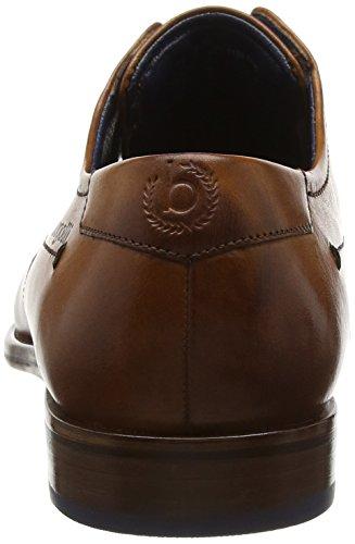 bugatti Herren 311129011100 Derby Braun (cognac 6300)
