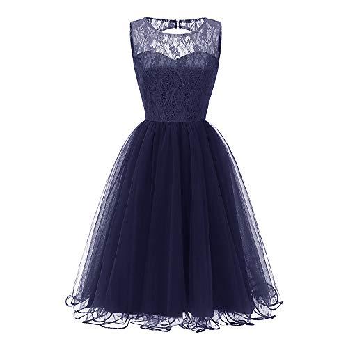 Resplend Frauen Party Aline Swing Kleid Vintage Prinzessinenkleid -