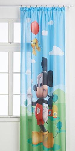 Ag design fcsl 7141disney mickey mouse, cameretta bambini tenda/tenda, 1parte, plastica, multicolore, 140x 245cm