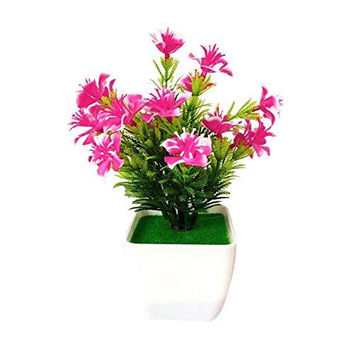 Homeofying 1 Stück Künstliche Kirschblüte Simulation Blume Hochzeit Home Floral Bonsai Decor Für Wohnzimmer Rosa