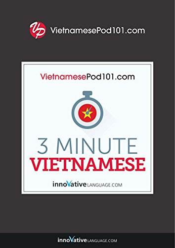3-Minute Vietnamese: 25 Lesson Series (English Edition)