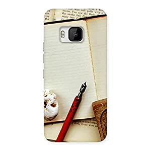 Little Diary Multicolor Back Case Cover for HTC One M9