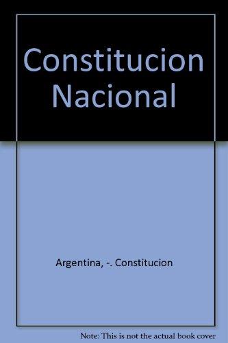 Constitucion Nacional por Constitucion Argentina